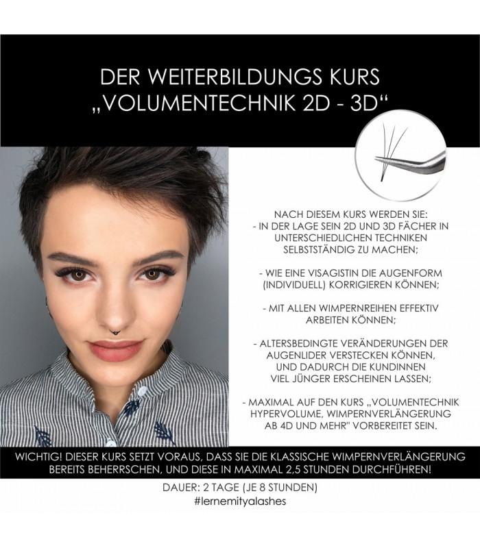 """Schulungen Weiterbildung """"Volumentechnik 2D und 3D"""""""