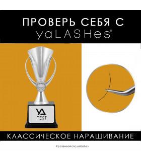 """Обучение Тест: """"Проверь себя с yaLASHes"""" (Классика 1:1)"""