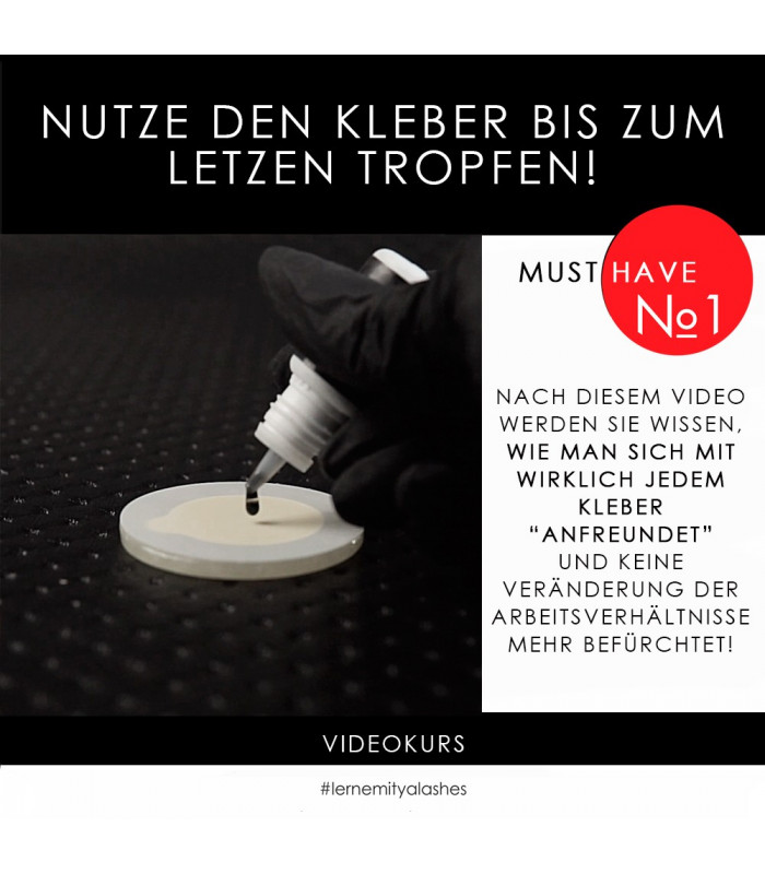 """Онлайн-Курсы Videokurs """"Nutze den Kleber bis zum letzen Tropfen! 4.0"""""""