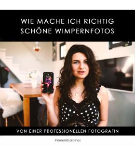 """Online-Kurse Videokurs """"Wie mache ich richtig schöne Wimpernfotos"""""""