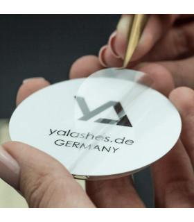 Zubehör Kleberdosierer yaLASHes mit selbstklebende Unterseite