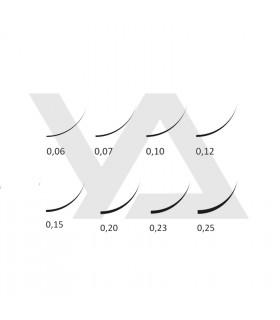 Ресницы Ресницы BEAUTIER MIX C, D, D+