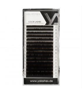 Eyelashes yaLASHes Dark Chocolate mix