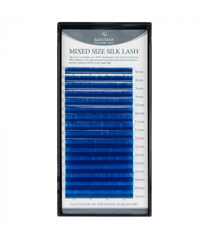 Ресницы Ресницы BEAUTIER синие MIX