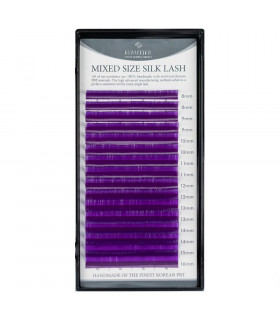 Wimpern Wimpern BEAUTIER VIOLET mix