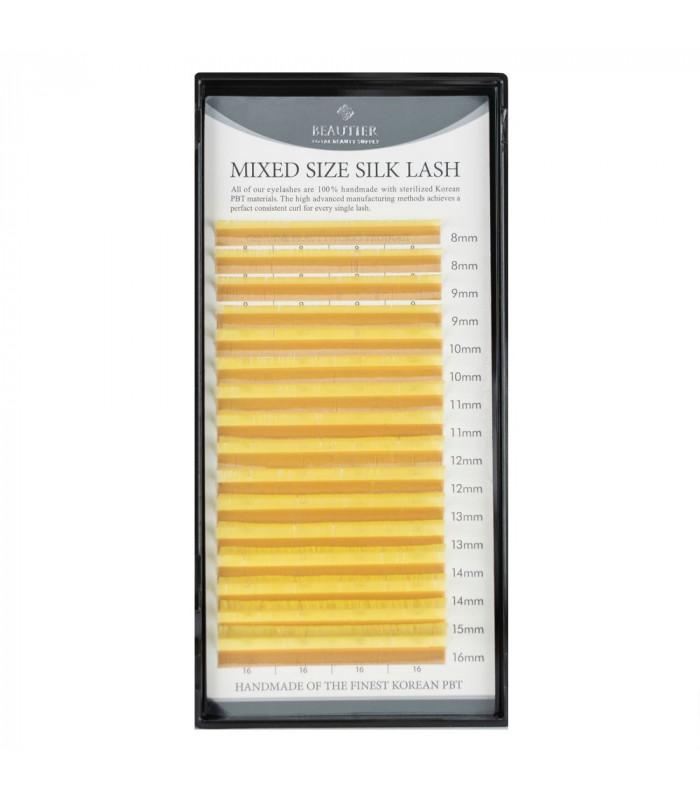 Ресницы Ресницы BEAUTIER Yellow mix