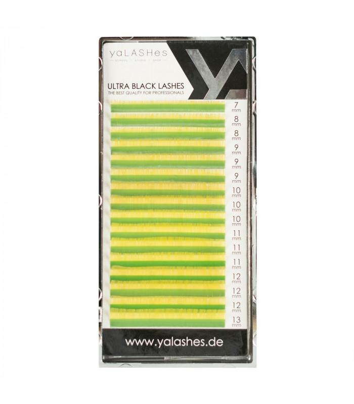 Ресницы Ресницы yaLASHes желтые Mix