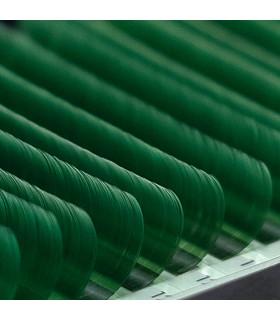 Ресницы Ресницы BEAUTIER зеленые mix