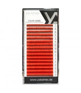 Ресницы Ресницы yaLASHes красные Mix