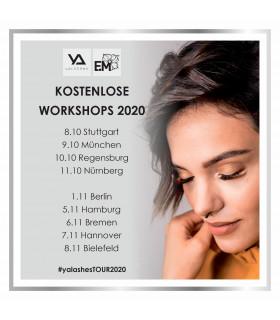 Schulungen Hausmesse, kostenlose Workshops - Tour2020