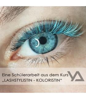"""Schulungen Exklusive Kombikurs: """"Lashstylistin - Visagistin + Coloristin"""""""
