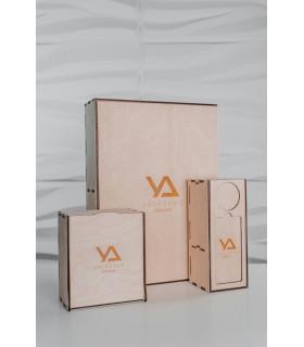 Аксессуары LashBox деревянный + 5 планшетов