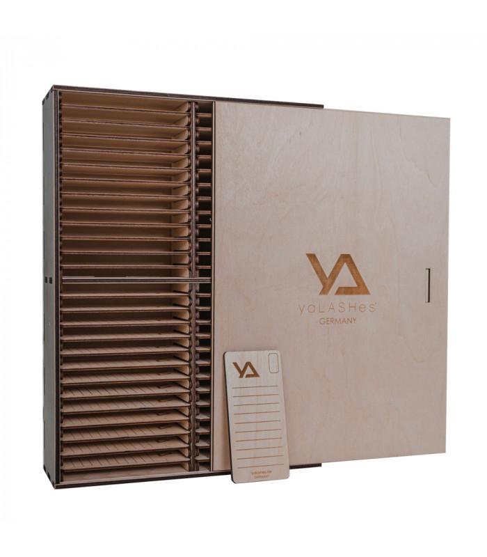 Аксессуары LashBox деревянный + 50 планшетов