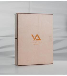 Zubehör LashBox aus Holz + 50 Wimpernplatten