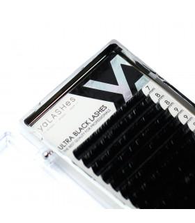 Ресницы NEW! Ресницы yaLASHes Ultra Black MIX 7-13mm