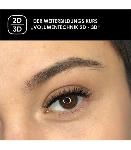 """Weiterbildung """"Volumentechnik 2D und 3D"""""""