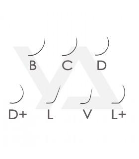 Ресницы Ресницы BEAUTIER C, D, D+