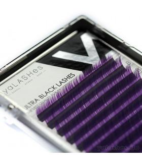 Ресницы Ресницы yaLASHes фиолетовые Mix